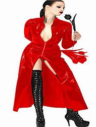 Costumes de Cosplay / Costume de Soirée Cosplay Fête / Célébration Déguisement Halloween Rouge Couleur Pleine BoucleHalloween / Carnaval