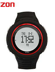 Sports Watch Men's / Ladies' LCD / Compass / Pulse Meter / Calendar / Chronograph / Water Resistant / Dual Time Zones / Sport Watch