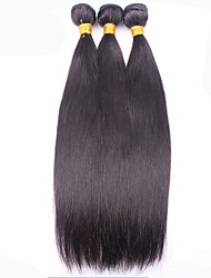 1Bundles 8-26inch Malaysian Hair Straight Hair Natural Color Virgin Human Hair Weaves