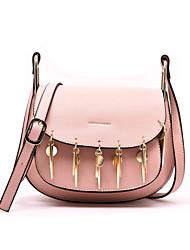 Women PU Flap Shoulder Bag