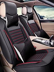 новый шелковый leathercar чехол подушки сиденья для автомобилей Внутренние размеры все сезоны подушки общие модели Canbe