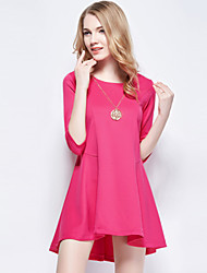 Women's Clothing Simple Fashion Loose Dress