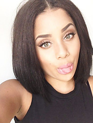 Glueless Brazilian Full Lace Human Bob Wig Human Hair Short Bob Wigs Black Women