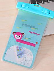pvc caixas secas impermeável material adequado para celular iphone para mergulho / natação / pesca 17,5 * 10,5 centímetros