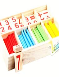 matemática Montessori inteligência caixa de aprendizagem auxiliar de ensino