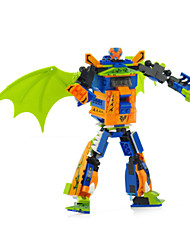 transformatoren Pterosaur 2 in 1 plastic model kits 3d model modelbouw speelgoed Robotech