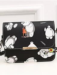 Women PU Baguette Shoulder Bag / Wallet / Coin Purse-Multi-color