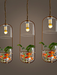New Modern Contemporary  Decorative Design Pendant Light/ Dinning Room, Living Room, Bedroom(Does Not Include Plants