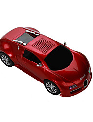 Bugatti car model car Bluetooth Speaker Portable Speaker Bluetooth Car Handsfree Radio Speaker DS-370BT