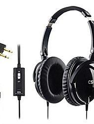 CS ANC1 Active Noise Cancelling Headphones With Mic Foldable Over Ear HiFi Noise isolation Headset