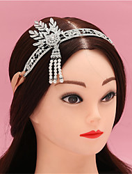 Hot Style Gates Than with The Bride Crown in Europe and The Us Tire Female Pearl Headband Hair Band