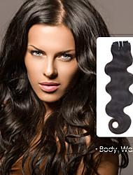neitsi® 100% real del cuerpo de Remy del pelo humano onduladas extensiones de cabello virgen