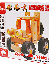 Assembling And Assembling Toy Cross-country Vehicle Model Of Nut Assembly
