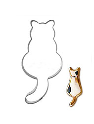 Durable Stainless Steel Cat Mould Cookie Cutter Cake Baking Mould Biscuit DIY Eggs Tool