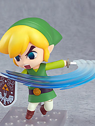 The Legend of Zelda Movable Link PVC 10CM Anime Action Figures Lovely Doll Toys Model
