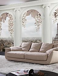 Décoration artistique Fond d'écran pour la maison Rétro Revêtement , Autre Matériel adhésif requis fond d'écran Mural , Couvre Mur