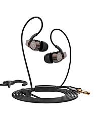 Langston SP80 Headphones (Earhook)ForMedia Player/Tablet / Mobile Phone / ComputerWithWith Microphone / DJ / Volume Control / FM Radio /