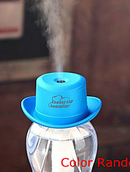 Creative USB Mini Humidifier Household Car Cowboy Hat Cap Office Table Atomizing Humidifier