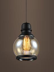 New Max 60W Retro Lighting Loft Bar Restaurant Lights Personality Living Room Clothing Store Glass Pendant Light