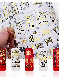 Cartoon / Lovely / Punk / Wedding Finger 3D Nail Stickers / Nail Jewelry Metal 1 18*12*0.1