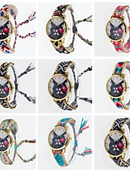 2016 New Female Wristwatch for Young Girls Cool Young Girl Wristwatch Braided And Gold Chain Women's Wristwatch Cool Watches Unique Watches