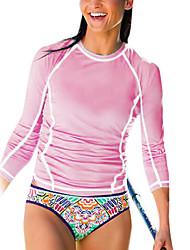 Andere Damen Oberteile / Schutz gegen Hautausschlag / Wetsuit, zweite Haut Taucheranzug UV-resistant / UPF50+ Dive Skins 3-3,4 mm Blau S