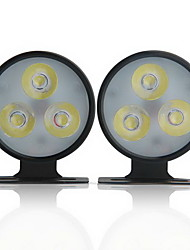 Couple Daylight Light 3 Led High Power White For Car Truck