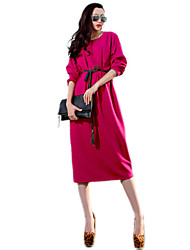 Veeragee The new spring 2016 chiffon dress  Long dress in knitting