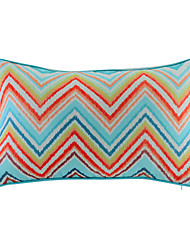 Polyester Pillow With Insert,Striped Casual