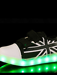 LED Light Up Shoes,Kid Boy Girl Unisex Upgraded USB Charging 7 Colors Breathable Canvas Sport Shoes Flashing Sneakers Luminous