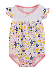 Girl's Clothing Set,Cotton Summer / Spring Pink
