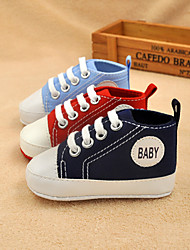 Boy's Girl's Flats Spring Summer Fall First Walkers Canvas Outdoor Casual Blue Green Pink Red Orange Coral Royal Blue
