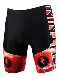 PALADIN® Cycling Padded Shorts Men's / UnisexBreathable / Quick Dry / Windproof / Anatomic Design / Ultraviolet Resistant / Insulated /