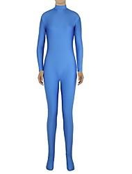 Zentai- paraUnisex-Disfraces Zentai-Licra / Spandex-Azul-