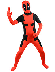 Adult Deadpool Lycra Male As Picture Cosplay Costumes