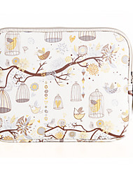 for Touch Bar Macbook Pro 13.3/15.4 Macbook Air 11.6/13.3 Macbook Pro 13.3/15.4 Birdcage Pattern Design Shockproof Laptop Sleeve Bag