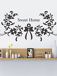 Sweet Home Wall Stickers  Vinyl Wall Decals Bedroom Living Room Wallpaper Wedding Decorations