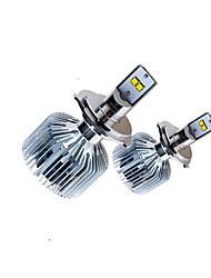 2pcs 90w boîtier bleu système de refroidissement elantra voiture conduit kit phare voiture philip-s conduit phare kit h4 h13 9004 9007