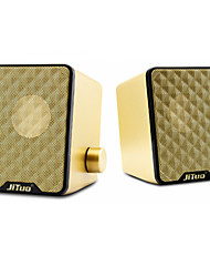 jituo multimedia membraan bass speaker jt2616 goud
