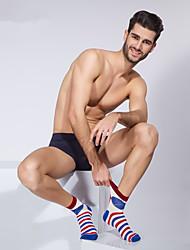 2016 High Quality Man Cotton Casual Socks Brand BONAS Spring Summer Sock Business Male Brand Sock 5pcs/Box