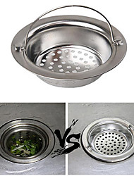 Stainless Steel Sewer Filter Bathroom Appliances Sewer Convenient Filter Net Prevent Sewer Blocked