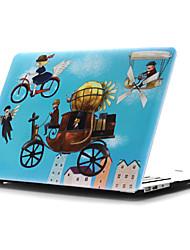 ingekleurde tekening ~ 42 stijl platte behuizing voor MacBook Air 11 '' / 13 ''