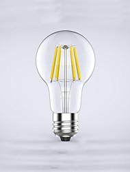 1 pezzo kwbled E26/E27 5W / 6W 6 COB 600 lm Bianco caldo / Luce fredda A60(A19) edison Vintage Lampadine LED a incandescenza AC 220-240 V