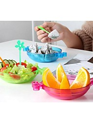 Candy-colored Fruit Plate Can Be Spliced