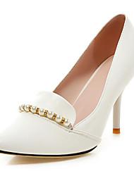 Women's Wedding Shoes Heels Heels Wedding / Dress Black / Blue / White