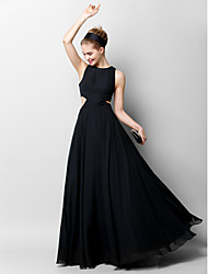 TS Couture® Formal Evening Dress A-line Jewel Floor-length Chiffon with