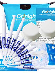 grinigh einfache Elemente mit 2 Personen Zähne mit LED-Beschleuniger Lichtweiß-Kit - mehr als 44 Behandlungen