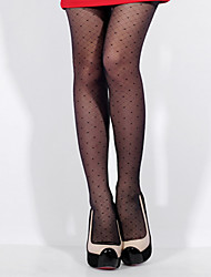 Fashion Brand BONAS Women Dot Pantyhose Women Stocking High Quality Tight