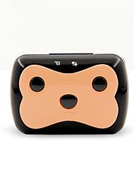 Gatos / Perros Los collares GPS A Prueba de Agua / Pilas incluidas / GPS Negro / Rosado Plástico