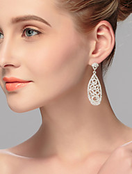 Hoop Earrings Women's Alloy Earring Rhinestone